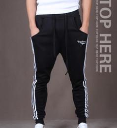 Wholesale Brand Track Pants - New Brand Mens Joggers Casual Harem Sweatpants Sport Pants Men Gym Bottoms Track Training Jogging Trousers Casual Sport running pants