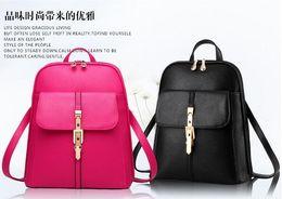 Wholesale Summer Korean Bags - Shoulder bag backpack new spring and summer 2016 new women Korean student fashion casual handbag