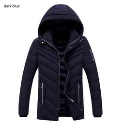 Wholesale Winter Fur Slim Coat Keep - 2016 new Winter Coat Parka Jackets 2016 New Arrival Casual Men Cotton Coat Jacket Keep Warm Thicker Long Style Winter Wear