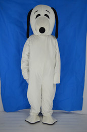 Wholesale Mascot Custom For Adults - plush bodysuit snoopy dog mascot costumes for birthday party adult size custom made free shipping white