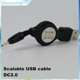 Wholesale G Battery Charger - Cheapest Micro USB cable Scalable USB + DC2.0 charger 80cm cabel for G battery DHL Free shiping