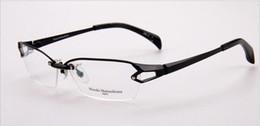 Wholesale Large Titanium Glasses - Brand Glasses-pure titanium Masaki Matsushima glasses frames men eyeglasses luxury spectacle designer large eyewear optical frame MF-1143
