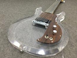 Wholesale Acrylic Guitars - Dan Armstrong.Ampeg Rare guitar New style acrylic body electric guitar