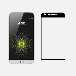 Wholesale Full Foam - 3D Curved 0.2mm Screen Protectors for LG G5 H830 Tempered Glass Screen Protector Glass Screen Protector for LG G5 with Foam Bag