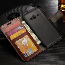 Wholesale A3 Leather - For Galaxy J3 J5 J7 A3 A5 A7 Prime 2016 Vintage Retro Flip Stand Wallet Leather Case Cover For Samsung 2017