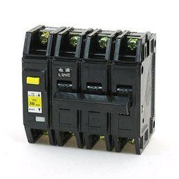 Wholesale Earth Leakage - Wholesale-63A 3P+N Moulded Case 3000A Max. Earth Leakage Circuit Breaker DZ12LE-63