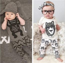 2019 vestiti per i piccoli Tuta per bambini Tute per neonato T-shirt manica corta T-shirt estiva Completi da uomo Completo da abito da bambina sconti vestiti per i piccoli