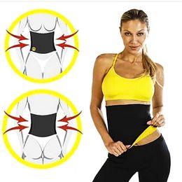 Wholesale Super Slim Waist - Fashion Super Stretch Neotex Hot Shapers Slimming Waist Training Belt Women Slimming Body Shaper Feminino Fajas Fajas Reductoras Corset F747