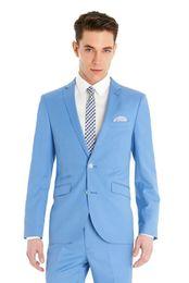Wholesale Trajes Hombre Fashion - 2016Terno Masculino Slim Fit Trajes De Novio 2015 Hombre Fashion Groom Wear Dress For Man Custom Size Men Wedding Suit