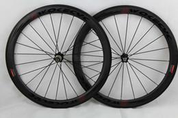 2019 kohlenstoff-straßenräder china Carbon Rennrad Räder schwarz Decals Basalt Bremsflächentiefe 50mm Drahtreifen Fahrrad Rennrad Laufradsatz 700C