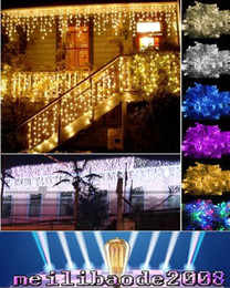 Wholesale rgb l - 2016 NEW New Arrivals 3.5M(L) x 0.6M(W) 96 LED Strips Lighting EU US For Home Wedding Decor FREE SHIPPING MYY