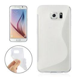 Wholesale Grip 1pcs - For Samsung Galaxy S7 EDGE Plus J3 J5 J7 J1 A3 A5 A7 2016 S line Grip Wave Soft TPU Gel Rubber skin Phone back cover case cases 1pcs 5pcs