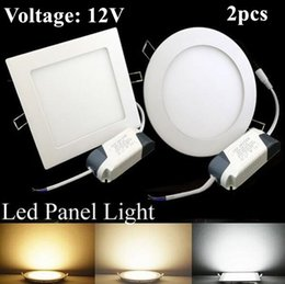 Wholesale Cree Round Light - 9W 12W 15W 18W 24W 12V CREE LED Panel lights Recessed lamp Round Square Warm Pure Cool White Led lights for indoor lights