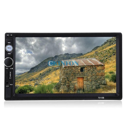 Wholesale Monitors Dvd - 5PCS 2Din Car DVD GPS CD Mp5 Usb Sd Player Bluetooth Handsfree Touch Screen HD System Radio BT