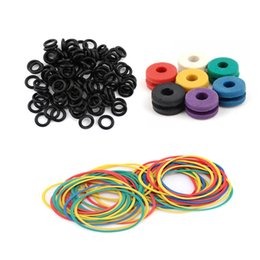 Wholesale Wholesale Grommet Machine - Wholesale- 300pcs Lot Tattoo Machine Parts Accessories Tattoo Grommets, O Ring'S And Rubber Bands Set