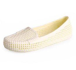 Wholesale Beach Gardening Shoes - Free Shipping Woman Summer Sandals Hollow croc Beach Shoes Leisure Girls Nurse shoes soft bottom Female Garden Shoes 16062101