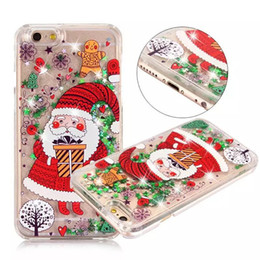 Wholesale kickstand double - new fashion two-double pc case christmas design brand new cellphone case back cover christmas gift case for iphone 7 8 plus X samsung s8