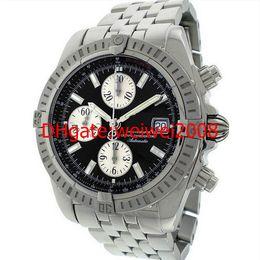 Wholesale evolution watch - Men's 2012 Chronomat Evolution Black Dial quartz Chronograph Date Stainless Steel A1335611.B719.372A pocket watch wristwatches UNWORN