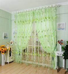Wholesale Tulip Curtains - New Beautiful Tulip Curtains High-grade Jacquard Bucks Shade Curtains Sheer Curtains