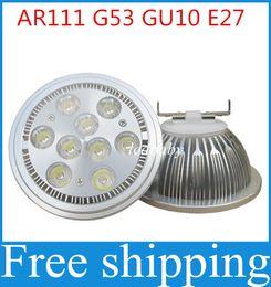Wholesale Halogen Bulbs For E27 - High Power AR111 LED Spotlight 10W 14W 18W 24W G53 Aluminum Alloy Led Bulbs AC85-265V Replace Halogen for Business Lighting