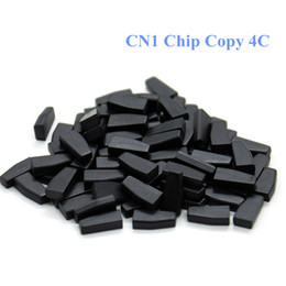 Wholesale 4c Key - High Quality 10pcs lot CN1 Chip Copy 4C chip Transponder CN1 Chip For ND900 CN900 Auto Key Programmer In stock Free Shipping
