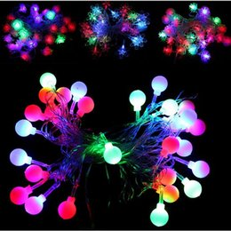 Wholesale Drop Selling - 2016 Selling Christmas Decoration Christmas lights LED lights string holiday lights 28 LED Christmas lights