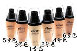 Wholesale N Skin - 2016 Popfeel Liquid Conceale n Flawless Foundation Cosmetics Makeup Foundation VS NYX Foundation