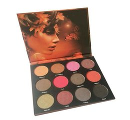 Wholesale Easy N - New N@S Eyeshadow Palette Long lasting Matte NR Eye Shadow Cosmetics 12 colors