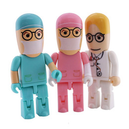 Wholesale Doctor Usb Flash - China 2016 New Design Doctors Peopel USB Flash Memory 4GB 8GB 16GB Wholesale Cheap USB From China With Free Shipping