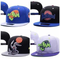 Wholesale Movies Spring - Spacejam baseball dad hat bone masculino snapback caps fashion hats for men Casquette 90s movie Space jam baseball Cap street sun hat gorra