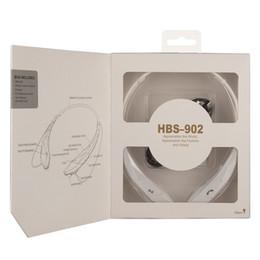 Оптовая Китай HBS 902 тон стерео спортивные наушники Беспроводные Bluetooth наушники музыка для LG iPhone Samsung смартфон с розничной коробке от Поставщики lg тоны bluetooth наушники оптом