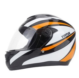 Wholesale Xl Motorcycle Helmets Dual Visors - 2016 Promotion dual visor DOT skull pattern motorcycle helmet safety racing moto helmet casco capacete Unisex free shipping