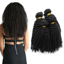 Argentina Berimy virgen peruana sin procesar rizado rizado sexy armadura de cabello humano 3 paquetes de extensiones de cabello rizado profundo Natural negro # 1B 95-100g / pc mixta Suministro