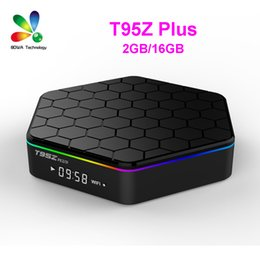 android tv box octa core 2gb Promo Codes - Amlogic S912 TV Boxes T95Z Plus 2GB 16GB Android 7.1 Smart TV Box Octa core 2.4G 5G WIFI BT4.0