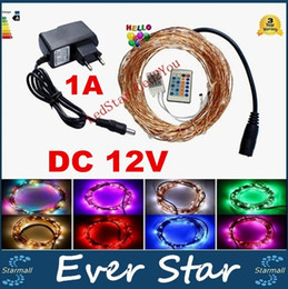 Wholesale Copper Wire Factory - 33ft 10M 100LEDs 5M 50LEDs Led Copper Wire LED String Fairy Light Home Factory Office Lamp Waterproof IP65 Christmas Garden Lamp DC 12V