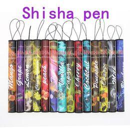 Wholesale disposable e cigs - E ShiSha Time disposable electronic cigarette - DHL Enough 500 Puffs Various fruit flavors colorful disposable E-cigs hookah pen