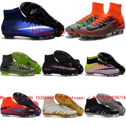 Cr7 Gold Soccer Shoes Reviews | Messi Outdoor Soccer Shoes Buying ...
