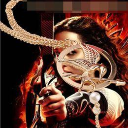 Wholesale Hunger Games Bracelet Ring - girl Wrist finger Wear Dual purpose use The Hunger Games mockingbird eagle Bracelet Mirs roc bird Bracelets hawk mouth Arrow bangle s008
