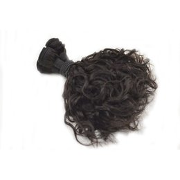 Wholesale Romance Hair - G-EASY Unprocessed Peruvian Aunty Funmi Hair Weaves,Romance Sprial Curly Human Hair Weft,Natural Black Aunty Fumi Hair Extension