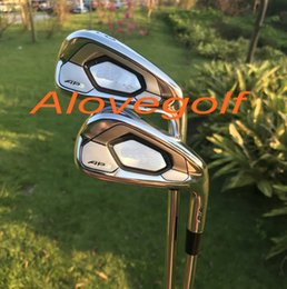 Wholesale iron quality - 2017 New golf irons AP3 718 forged irons set (3 4 5 6 7 8 9 P ) with project X6.0 steel shaft high quality golf clubs
