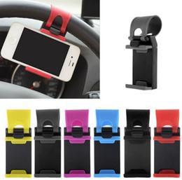 10 adet / grup Evrensel Araba Direksiyon Cep Telefonu Tutucu Elastik Tasarım Cep Telefonu Tutucu Akıllı Telefon GPS MP4 PDA Için Standı nereden telefon stand notu tedarikçiler