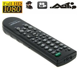 Wholesale Remote Controller Dvr - Full HD 1080P Spy Camera DVR Real TV Remote Controller Home Office Security Camcorder HD Concealed Video Recorder Portable Camera