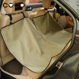 Wholesale Cradle Dog Car - Cradle Dog Car Rear Back Seat Cover Pet Mat Blanket High Quality Hammock Cushion Protector 2016 New Arrival Pet Car Seat Cover