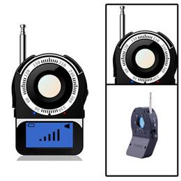 "Wholesale Sensor Spy Cameras - CC309 1.6"" Anti-Spy Laser Hidden Video Camera Wireless RF Signal Amplification Full-range All-round Tracer Sensor Finder GSM Bug Detector"