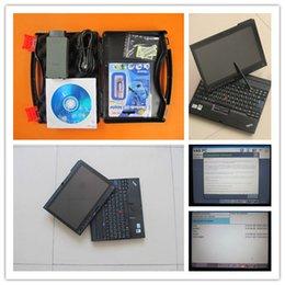 Wholesale Vw Uds Diagnostic - vas5054a uds vas5054 oki full chip bluetooth odis 4.2.3 installed well in x200t laptop diagnostic scanner for audi for vw