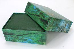 Wholesale Watch Flat - The green box big shop watch box jewelry box custom moon cake gift box long flat