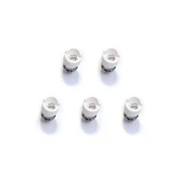 Wholesale Dome Atomizer - M6 Coil replacement Coil head for Bulb Glass Globe Atomizer Glass Tank Replacement Core Head for Dry Herb Wax glass dome Ceramic coil