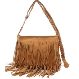 Wholesale Cashmere Scarf Women Cheap - Hot Sale Fashion Women Suede Weave Tassel Shoulder Bag Messenger Bag Fringe Handbags High Quality Cheap handbag scarf
