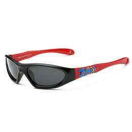 Wholesale Kids Black Sun Glasses - New 6Colors Children Polarized Sunglasses Kids Soft Flexible Eyewear Boys Girls Sporting Sun Glasses Free Shipping 6Pcs Lot