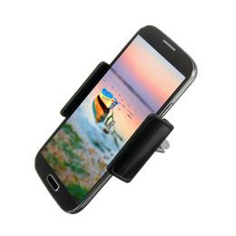 Wholesale Navigation Cradle - S5Q 360° Rotating Car Air Vent Mount Cradle Phone Holder Car Navigation Holder AAAGDO